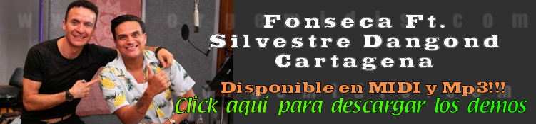 Fonseca Ft Silvestre Dangond  Cartagena  midi instrumental mp3 karaoke