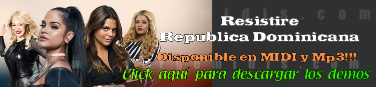 Resistire Republica Dominicana midi instrumental mp3 karaoke