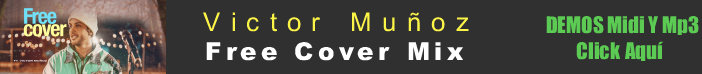 Victor MuNoz - Mix free cover midi instrumental mp3 karaoke