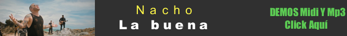 Nacho - La buena midi instrumental mp3 karaoke