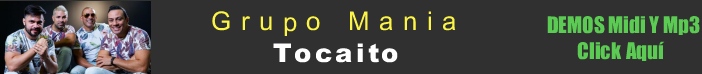 Grupo Mania Tocaito midi instrumental mp3 karaoke